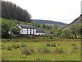SN8056 : Dolgoch hostel in Cwm Tywi, Ceredigion by Roger  Kidd