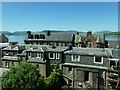 NS2477 : View north from the Kempock Stone, Gourock by Christine Johnstone