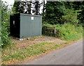 SO1122 : Welsh Water cabinet, Maesmawr Lane, Talybont-on-Usk  by Jaggery