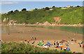 SX6644 : Avon estuary by Derek Harper
