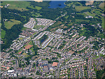 NS7177 : Kilsyth from the air by Thomas Nugent