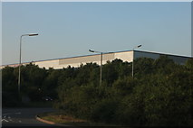 TL0078 : Warehouse by the A605, Thrapston by David Howard