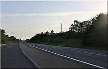SP9974 : Layby on the A45, Raunds by David Howard