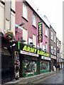 O1534 : Army Bargains shop by Thomas Nugent