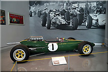 NT7853 : Inside the revamped Jim Clark Museum in Duns by Walter Baxter