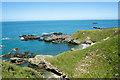 SH3293 : The coast near Tyn Llan by Jeff Buck