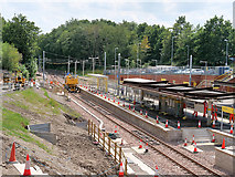 SD8402 : Extension Work at Crumpsall Metrolink Station, July 2019 by David Dixon