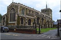 TF2569 : St Mary's Church, Horncastle by David Martin