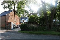 TL4134 : Farmstead in Nuthampstead by David Howard