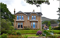 NS2059 : Moorburn House, Largs, North Ayrshire by Mark S