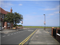 NZ3573 : East end of Davison Avenue, Whitley Bay by Richard Vince