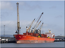 J3576 : The 'Achilleus' at Belfast by Rossographer