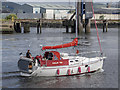 J3575 : Yacht 'Kahlua Too' departing Belfast by Rossographer