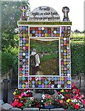 SK2375 : Main well dressing in Stoney Middleton 2019 by Neil Theasby