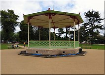 SP3165 : The Bandstand in Pump Room Gardens by Gerald England