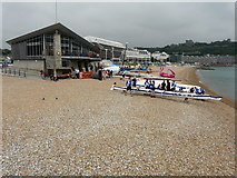 TR3140 : Rowing boats on the beach by John Baker