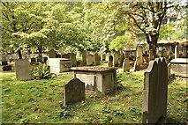 TQ3282 : Bunhill Fields Burial Ground by Richard Croft