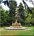 SP3165 : Hitchman Fountain by Gerald England