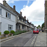 ST6601 : Old houses on Abbey Street, Cerne Abbas by Robin Webster