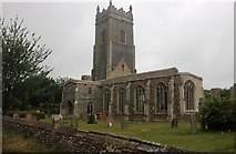 TM4874 : St Andrew's Church, Walberswick by David Howard