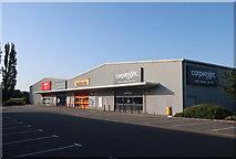 TL4097 : Retail park, Peas Hill by Hugh Venables