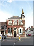 SY9287 : Looking across West Street towards Wareham Town Hall by Basher Eyre