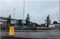 TM2445 : Anson Road retail park, Martlesham Heath by David Howard