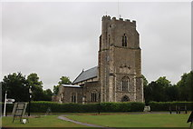 TM2866 : Dennington Church by David Howard
