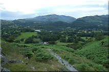 NY3404 : Path down Loughrigg Fell by DS Pugh