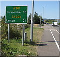 SS5532 : Ilfracombe 15, Lynton 21 by Jaggery