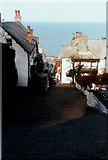 SS3124 : High Street, Clovelly by John Baker