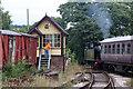 SJ9542 : Foxfield railway - last train from Caverswall Road Station by Chris Allen