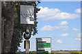 TL8179 : The sign of the Elveden Inn by Adrian S Pye