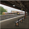SP3165 : Leamington Spa: modern trains and retro features by John Sutton