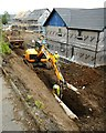 NS5572 : The last drainage pipes going in by Richard Sutcliffe