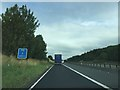 NY5520 : M6 signage - northbound by Dave Thompson