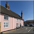 TM4249 : Orford: Suffolk pink and a blue sky by John Sutton