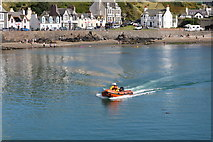 NW9954 : RNLI Rib approaching the Inner Harbour, Portpatrick by Billy McCrorie