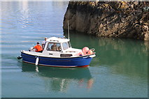 NW9954 : Seajay passing the Dorn Rock, Portpatrick by Billy McCrorie