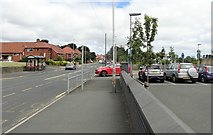 NZ2660 : Looking north along Queen Elizabeth Avenue, Sheriff Hill by Robert Graham