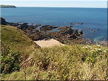 SX6642 : Thurlestone: overlooking Broad Sand beach by Martin Bodman