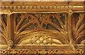 SP8796 : Great Hall cornice by Richard Croft