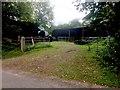 SN7121 : Farmyard at Bryncoch by Alan Hughes