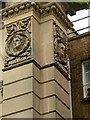 SK5640 : Sculpted heads on the Waverley Building by Alan Murray-Rust