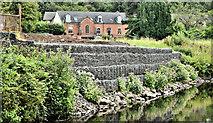 J3167 : Gabions, River Lagan, Edenderry, Belfast (August 2019) by Albert Bridge