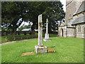NY6214 : St Lawrence, Crosby Ravensworth: churchyard cross by Stephen Craven