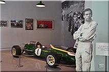 NT7853 : Lotus Formula 1 car, Jim Clark Museum Duns by Jim Barton