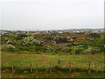 SH1726 : Looking across the valley in Aberdaron by Eirian Evans