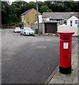 ST1597 : Victorian pillarbox, Pengam Street,  Glan-y-nant, Pengam by Jaggery