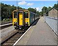 SO1107 : Penarth train in Rhymney station by Jaggery